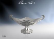 Серебряная ваза №9
