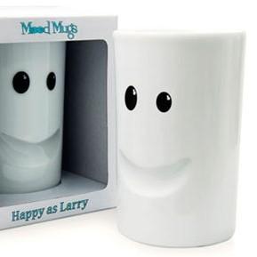 Чашка «Утреннее настроение — счастливый как Ларри»