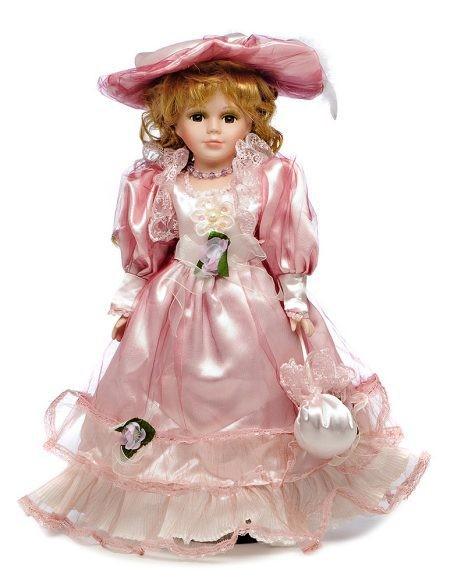 Фарфоровая кукла Виолетта
