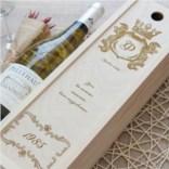 Коробка для вина Поздравительная