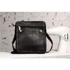 Кожаная сумка через плечо Brialdi Newport (цвет — черный)