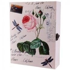Настенная ключница Цветок розы