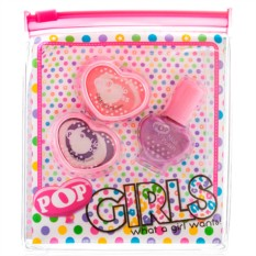 Набор детской декоративной косметики для губ и ногтей