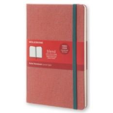Красная записная книжка Moleskine Blend в линейку