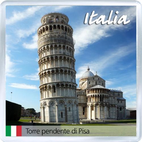 Магнит на холодильник: Италия. Пизанская башня