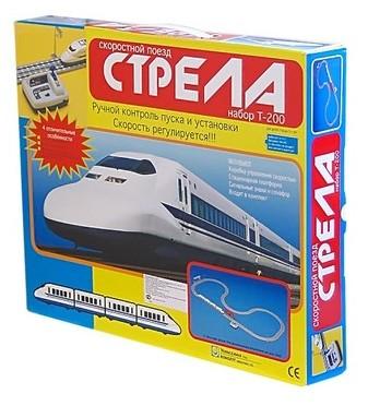 Железная дорога Racing PRO Скоростной поезд