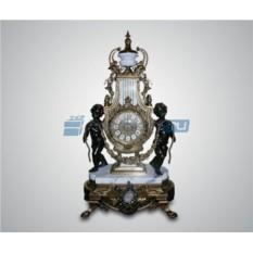Каминные часы (бронза/мрамор)