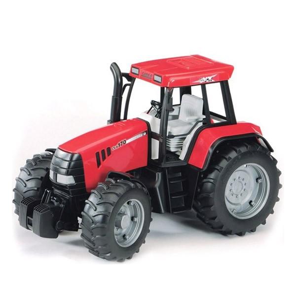 Красный трактор steyr cvt 6230 Bruder