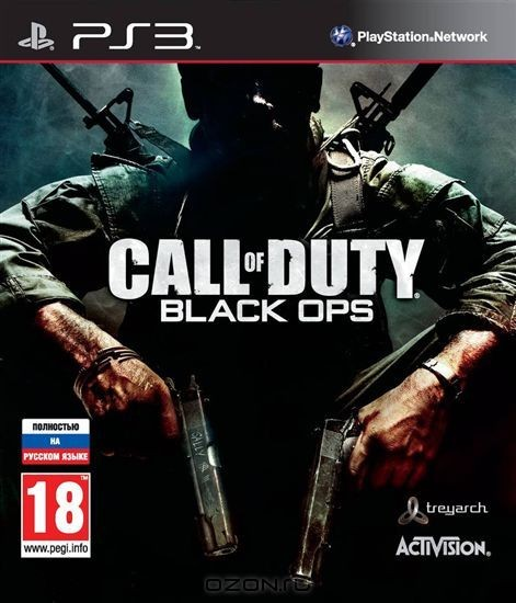 Игра Call of Duty: Black Ops (PS3)