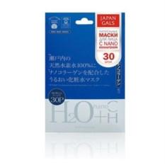 Маска Водородная вода и Нано-коллаген Japan Gals (30 шт.)