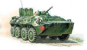 Сборная модель БТР 80