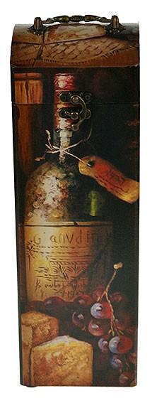 Шкатулка-сундучок под бутылку Эстет