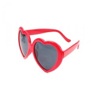 Очки Heart, красные
