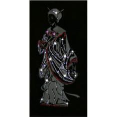 Картина с кристаллами Сваровски Японская девушка