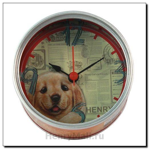 Часы на магните в виде консервной банки Денни