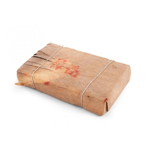 Пуэр в бамбуке в форме кирпича 250 гр.