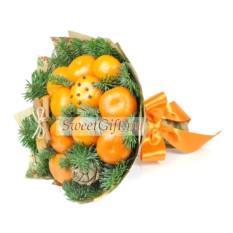 Букет из фруктов Мандаринка