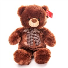 Мягкая игрушка Aurora Медведь коричневый