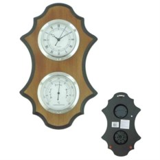 Настенные часы с термометром
