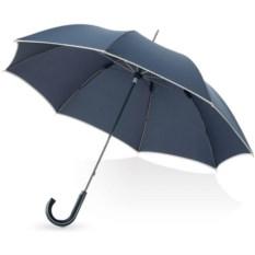 Темно-синий механический зонт-трость Ривер