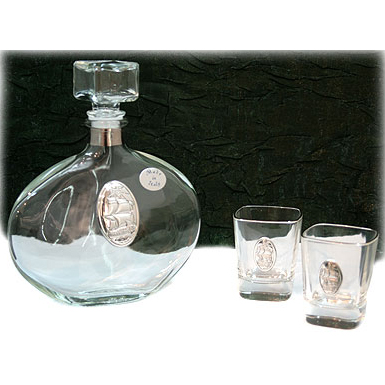 Подарочный набор для водки «Фрегат»