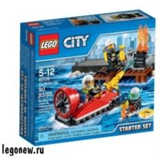 Конструктор для начинающих Lego City Пожарная охрана