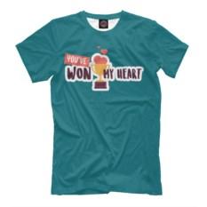 Мужская футболка You Have Won My Heart