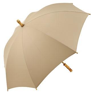 Зонт-трость «ЭКО» с бамбуковым стержнем