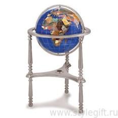 Глобус (карибский голубой) малый