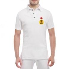 Мужская футболка polo Медаль деду