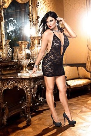 Мини-платье Mafia D (52-54), черное кружево
