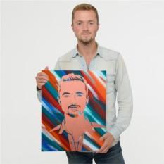 Оригинальные портреты по фото своими руками в стиле Стик-Арт