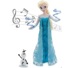 Поющая кукла Disney Эльза с Олафом, Холодное сердце
