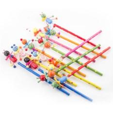 Набор из 12 карандашей на пружинке