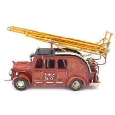 Декоративная модель из металла Пожарная машина
