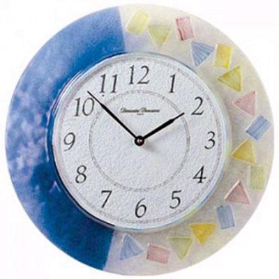 Часы настенные, венецианское стекло