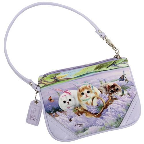 Кошелек-сумочка «Лаванда и ветер»