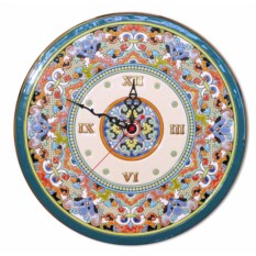 Круглые часы (керамика)