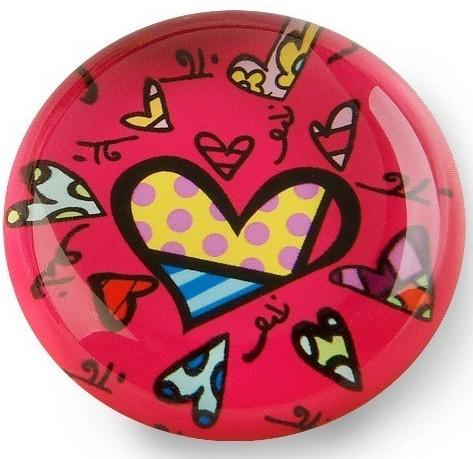 Магнит на холодильник PINK HEART