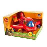 Обучающая игрушка-самолет Маша и медведь