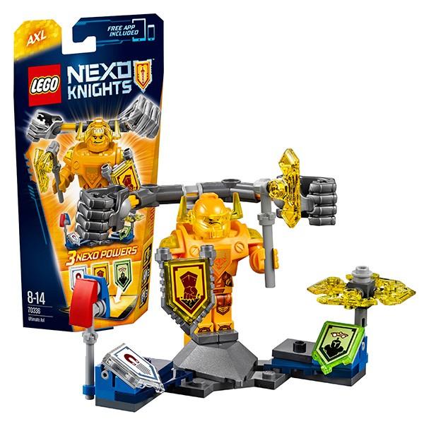 Конструктор Lego Nexo Knights Аксель - Абсолютная сила
