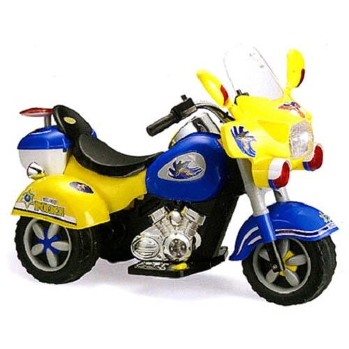 Мотоцикл с аккумулятором 3-х колесный