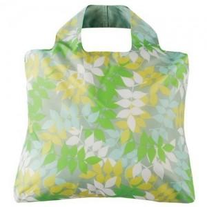Эко-сумка Листья светлая