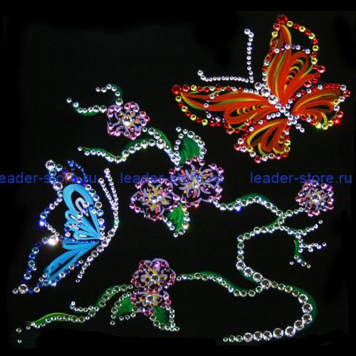 Картина Swarovski Цветущий край