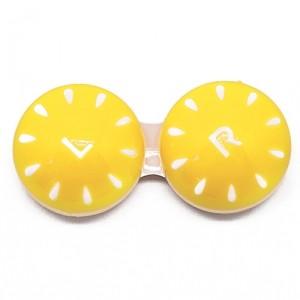 Контейнер для контактных линз Strokes, желтый