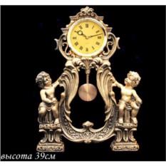 Декоративные настольные часы с маятником