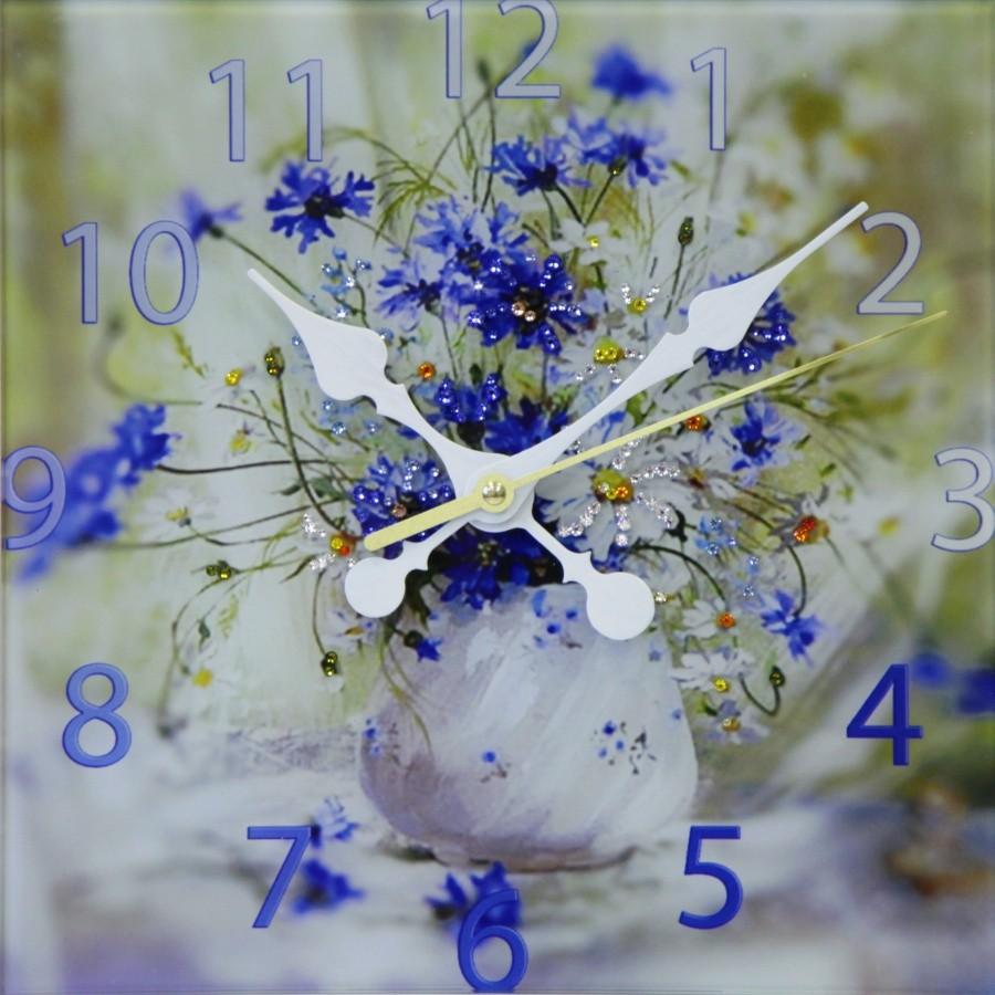 Букет цветов кристаллов сваровски 8