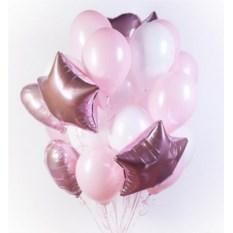 Букет шаров Pink Lady