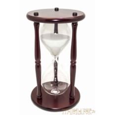 Песочные часы Гигант на 60 минут (белый песок)