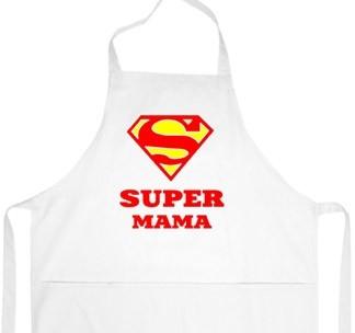 Фартук Супермен. Супер мама